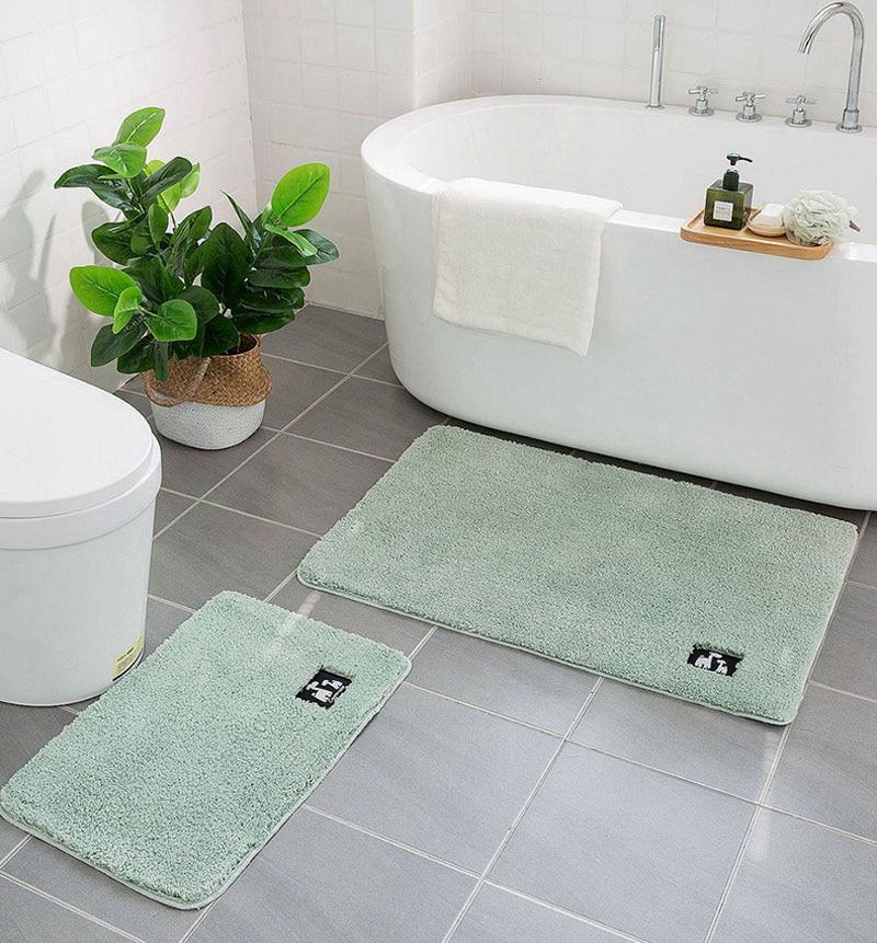 Non Slip Bath Mat Bathroom Carpet,Tapis Salle De Bain,Mat In The