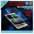 For S6 edge soft tpu full coverage film New TPU soft anti-explosion screen protector for Samsung Galaxy S6 egde S6 edge plus