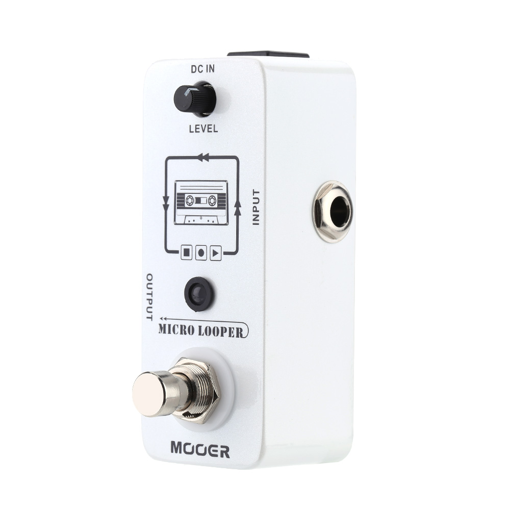 mooer micro looper guitar pedal mini loop recording guitar effect pedal for electric guitar. Black Bedroom Furniture Sets. Home Design Ideas