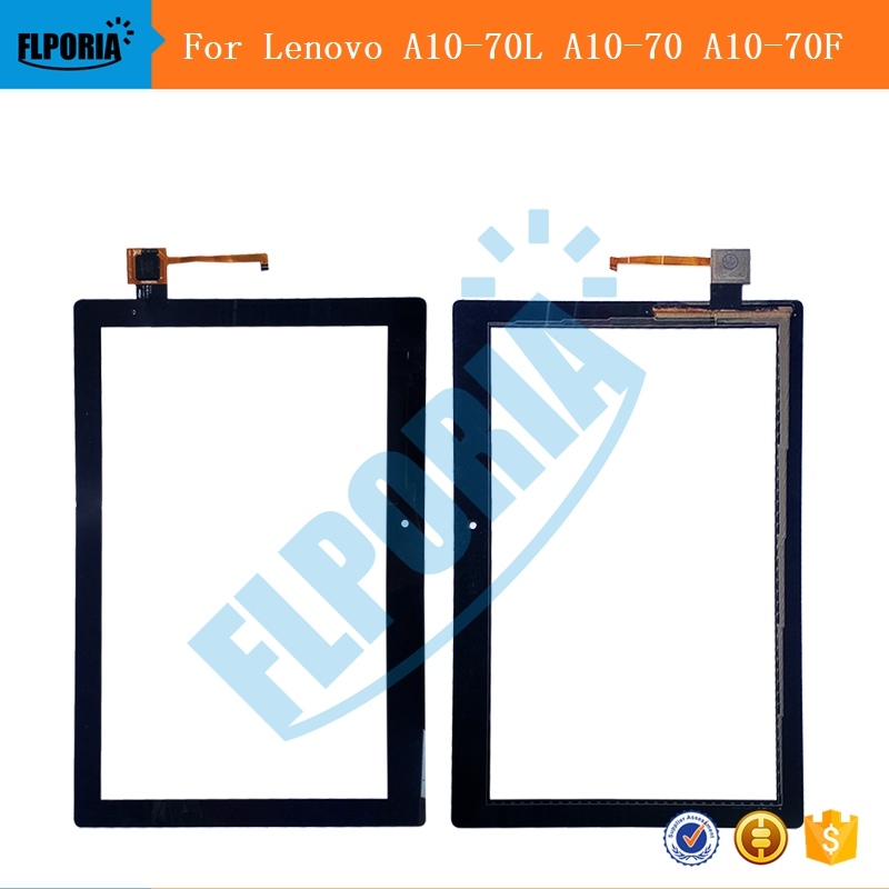 For Lenovo Tab 2 A10-70L A10-70 A10-70F Touch Panel Screen Digitizer Glass Tablet Replacement Parts For Lenovo A10-70L A10-70F