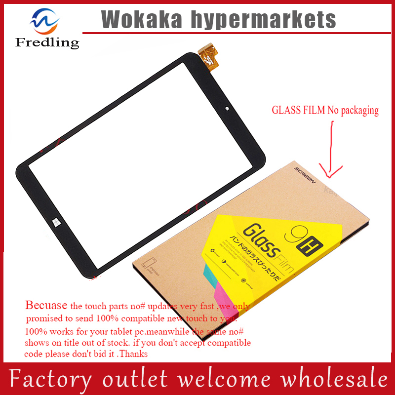 Tempered glass protector film New touch screen 8 Prestigio Visconte Quad 3G PMP881TD3G Tablet Touch panel Digitizer Glass