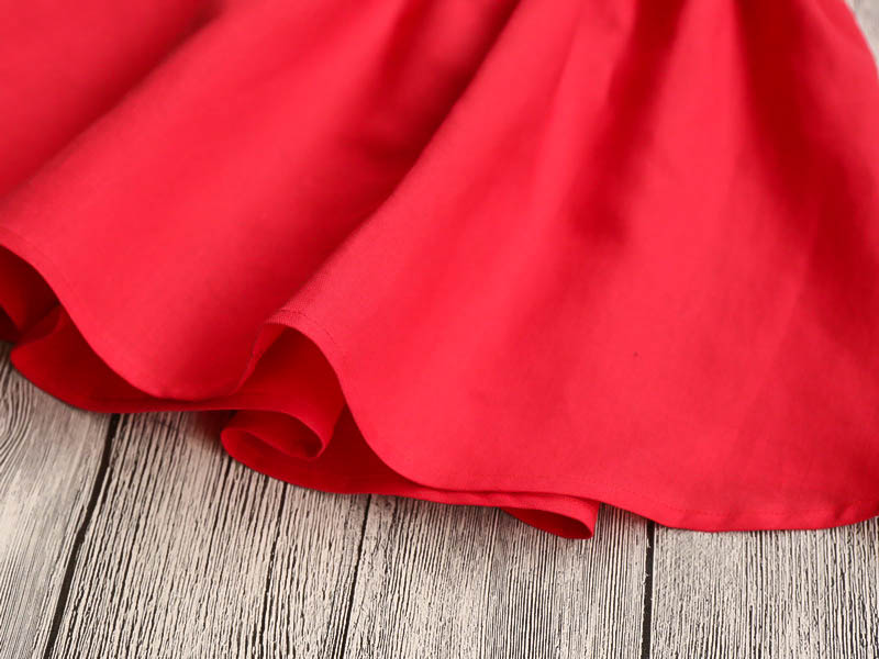 HTB1W5v7RXXXXXcTXpXXq6xXFXXXf - Hurave Summer 2017 New Cute Style Fashion Sleeveless Girls Bow Dress Girl Clothing For Children Cute Dresses Vestidos