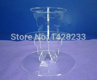 wedding decoration/ 3 Tier Clear Acrylic Butterfly Cupcake Stand Cup Cake Display/Wedding Party