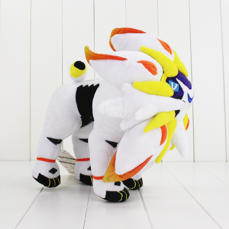 25cm Sun Moon Solgaleo Lunala Stuffed Plush Doll Toy