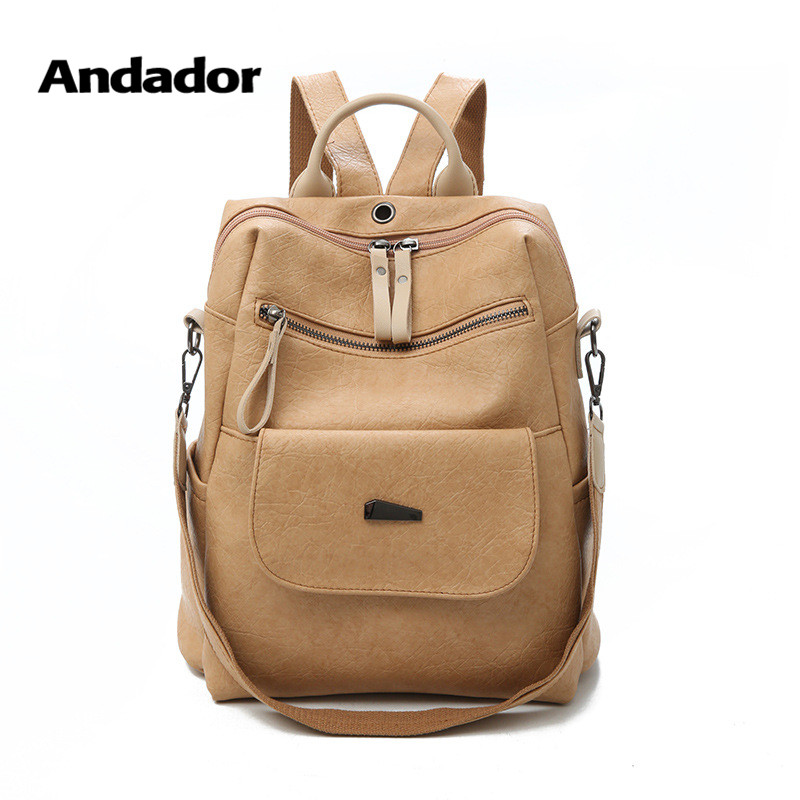 Girls Backpacks Large-Capacity Shoulder-Bags Vintage School Casual Women New-Fashion