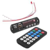 Útil sem fio remoto 12 v mp3 wma decodificador placa módulo de áudio usb tf rádio não incluem bluetooth|Reprodutor de MP3 e acessórios p/ amplificador| |  -