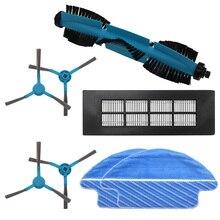 Nuevo cepillo principal cepillo lateral HEPA filtro fregona para Cecotec Conga 3090 aspiradora robótica