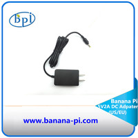 Standard DC Power Supply/Adapter with EU,US plug only for Banana Pi M2/M3/M64/R40 Board