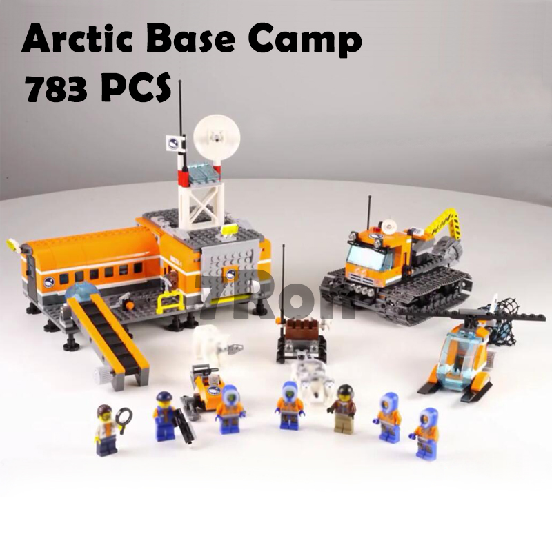 Bela 10442 City Arctic Base Camp Model building kits compatible with lego city 3D blocks Educational toys hobbies for children gudi block city large passenger plane airplane block assembly compatible all brand building blocks educational toys for children
