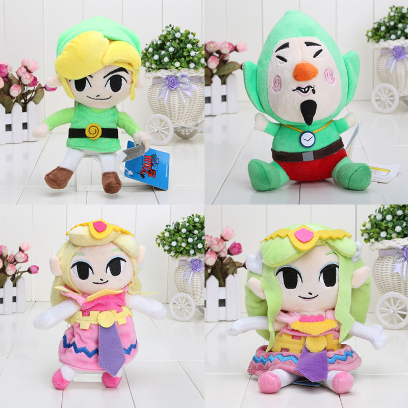 18 20cm The Legend of Zelda Link Princess Plush font b Toys b font Stuffed Dolls