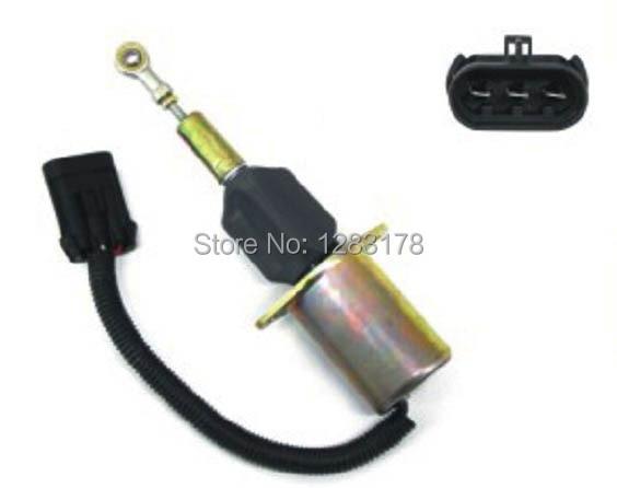 6CT Fuel Shutdown Solenoid Valve 3939018 SA-4889-12 12V fuel shutdown solenoid valve 3939019 for 6ct fast cheap shipping by fedex dhl