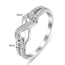 Sterling Silver Jewelry Designer Brand Rings For Women