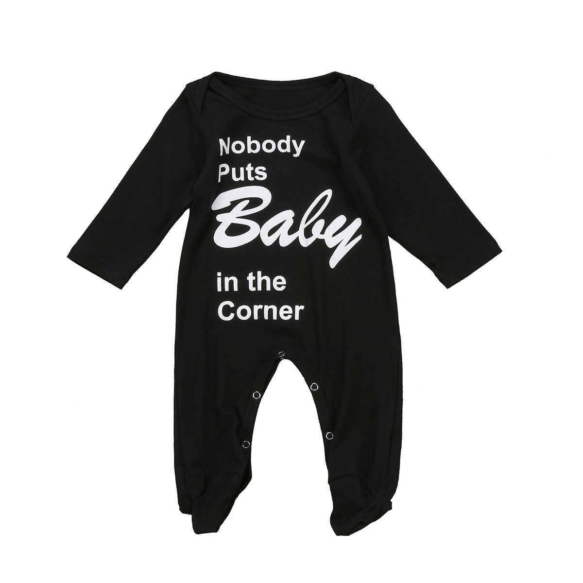 Detail Feedback Questions about Newborn Baby Boys Girls Long Sleeve Baby  Sleeper Black Sleep and Play suit on Aliexpress.com  d5032f392