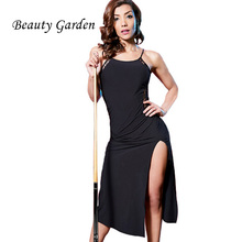 Beauty Garden Summer Dress Solid Split Harness Strap Sexy Night Club Ladies Clothing  Lace Vintage Sleeveless Dress
