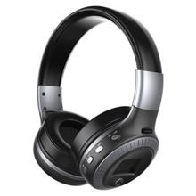 Хорошее качество оригинала Фанатик B19 светодиодный экран стерео гарнитура Bluetooth наушники оголовье гарнитуры с FM TF для MP3 плеер