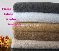 High Quality Coral Fleece Sherpa Upholstery Fabric For Furniture Cotton Knit Fabric Telas Patchwork Fossa Pet