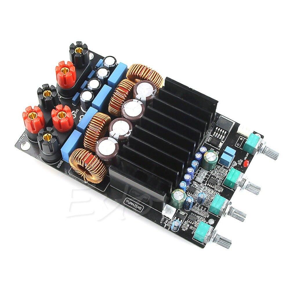 TAS5630 2.1 classe D 300W + 150W + 150W tonalité ajuster amplificateur terminé carte assembler carte module raffiné - 3