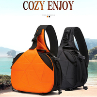 Upgrade Large Capacity Triangular Camera Video Bag DSLR Waterproof Backpack Anti shock Rucksack Photo Mochila for Nikon Canon