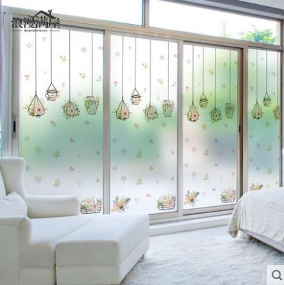 Home Decor Sweet Incense Window Sticker Glass Sticker Frosted Glass Film Sliding Door Balcony Transparent Opaque Bathroom-60 Back To Search Resultshome & Garden