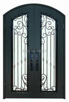 Porte d'entrée en fer forgé fabricant modèle hench-ied12