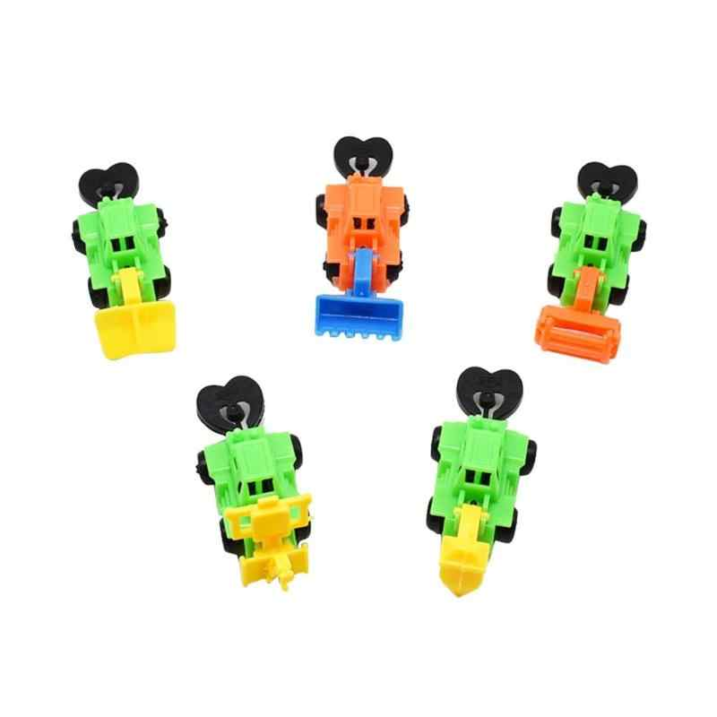 1PC Mini Engineering Tractor Car Toy Kids Dump Truck Vehicles Model Toys Boys Birthday Gifts Set Random Children Simulation Cars