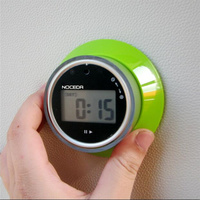 New Digital LCD kitchen timer clock magnetic 15s to 99 minutes Electrical kitchen Countdown timer alarm reminder cooking tool