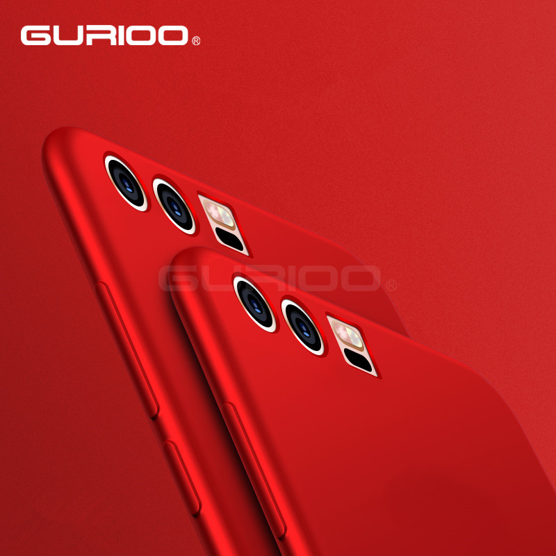 Gurioo мягкий чехол для Huawei P10 случаях ТПУ кремния тонкий сзади защитить кожу ультра тонкий телефон чехол для Huawei P10 плюс Чехол