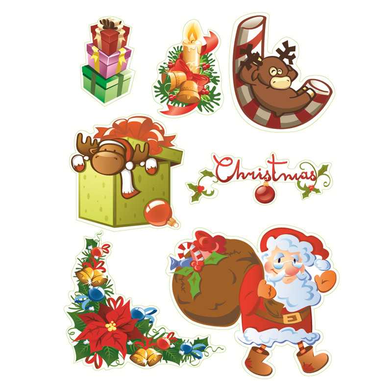 Naifumodo Christmas Magic Stamp Set Decor Clear Rubber Stamps Transparent Scrapbooking Card Making Embossing Album Craft Diecut