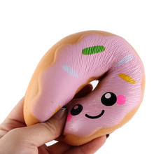 Doughnut Cream Scented Squishy Slow Rising Squeeze Anti Stress Soft Toys