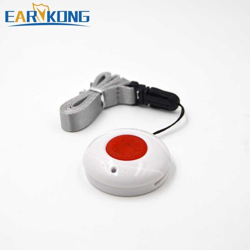 Wireless Panic Button ,SOS Sensor Alarm, 433MHz, Just For Our Home Burglar Alarm System, hanging type, one key alarm wireless vibration break breakage glass sensor detector 433mhz for alarm system