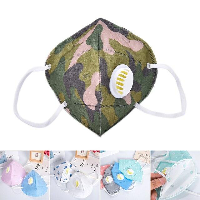 Mouth Mask Cotton Cute PM2.5 Anti Haze Black Dust Mask Nose Filter Windproof Face Muffle Bacteria Flu Fabric Cloth Respirator 5