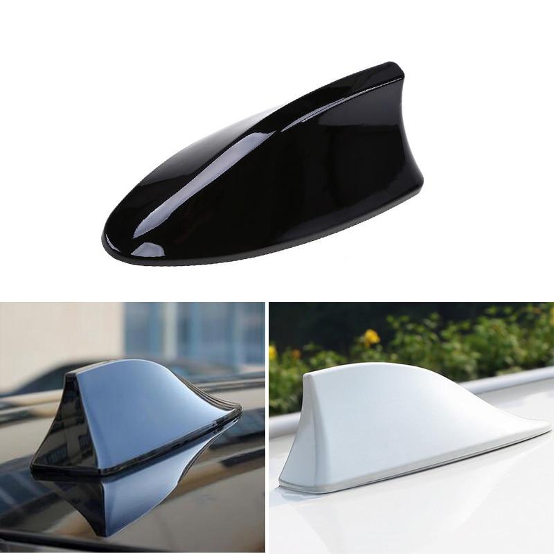 1x Car Truck Van Roof Shark Fin Antenna For Toyota Corolla RAV4 Camry Prado Avensis Yaris Auris Hilux Prius Land Cruiser