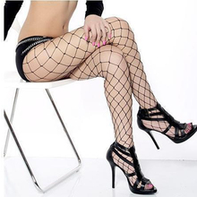 2017 Hollow out sexy pantyhose female Mesh black women tights stocking slim fishnet stockings club party hosiery