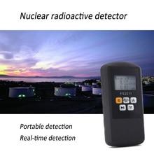 Electric Nuclear Radiation Detector Portable Multi-functional Digital Monitoring Alpha Beta Gama Ray Radiation Detector