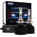 Super Bright HB3 9005 Car LED Headlight Kit Fog DRL Light 90W 10000lm 6000K Head Lamp Replace Xenon Hid Halogen Bulb