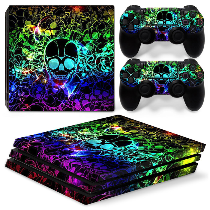 Vinly Cover Skin Sticker for PS4 Pro One Piece Dropshipping