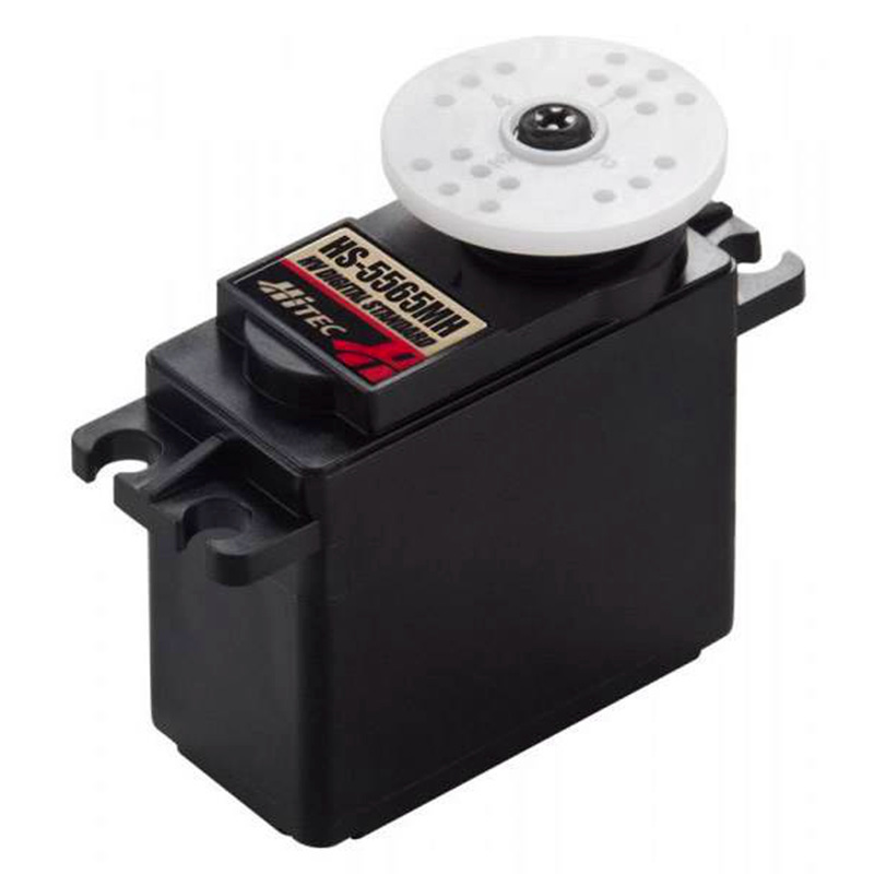 HiTec HS-5565MH Economical, High Voltage, High Speed, Coreless, Metal Gear Digital Sport Servo 14KG/60g hitec hs 7945th high voltage titanium gear coreless ultra premium servo 23kg 68g for rc hobby