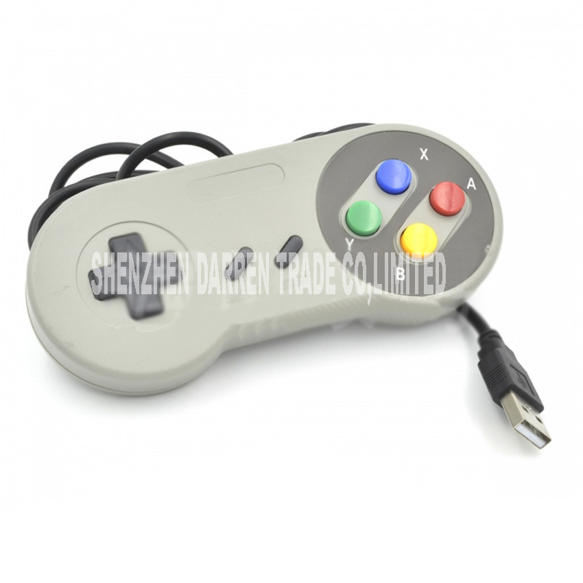 game USB Joystick high quality retro game gray handle Joypad gamepad controller wired USB game handle Nintendo NGC/N64/FC for nintendo new 3ds ll xl controller console gamepad handgrip joypad bracket holder handle hand grip protective support case