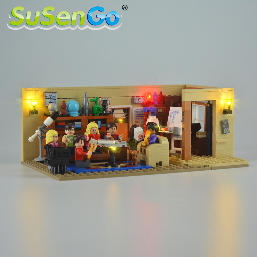 SuSenGo LED Light Kit For 21302 Ideas Series TBBT Toys Lighting Set Compatible With 16024 39007 NO Building Blocks Model image