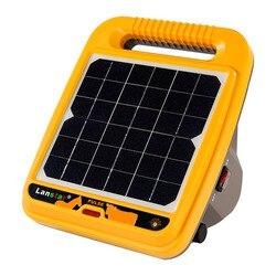 Contrôleur électrique de chargeur de clôture électrique de ferme de sortie de 12KV 0.4J actionné solaire