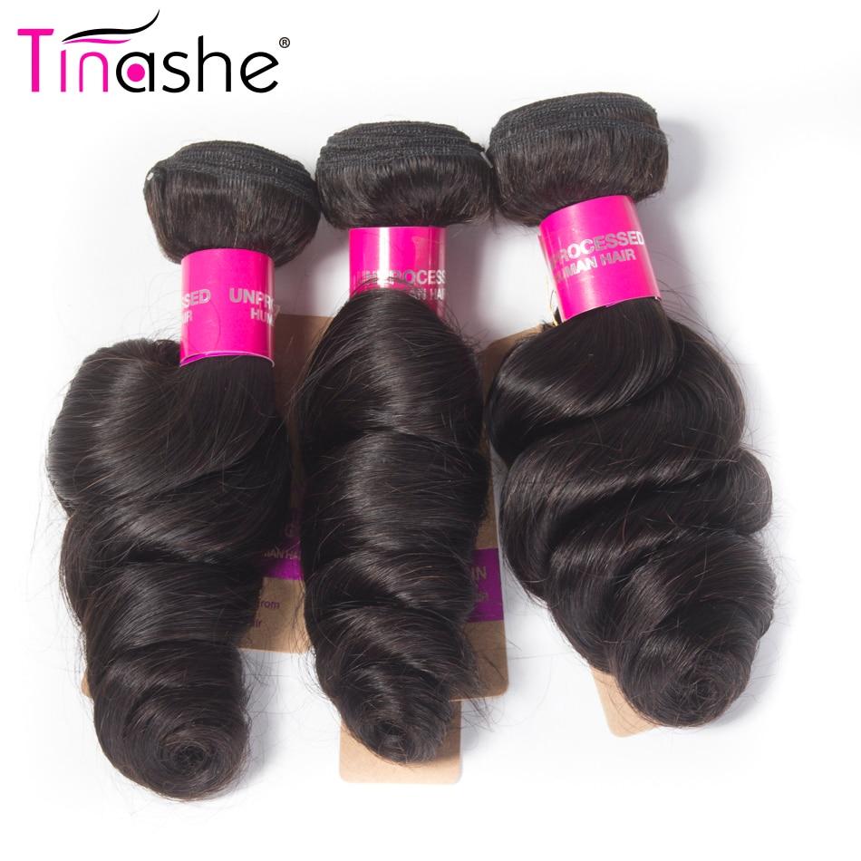 HTB1W60oubuWBuNjSszgq6z8jVXaj Tinashe Hair Brazilian Hair Weave Bundles With Closure Remy Human Hair 3 Bundles With Closure Loose Wave Bundles With Closure