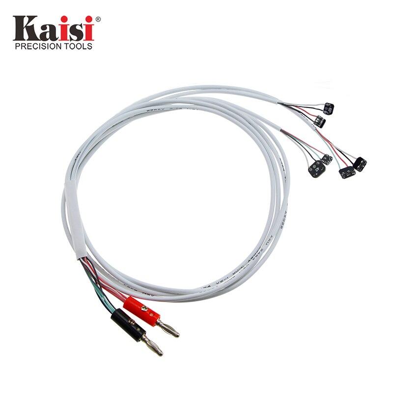 Kaisi Test Wire Repair Tools Original DC Power Supply Phone Current Test Cable For Apple IPhoneX 8 8plus 7 7 Plus 6 6plus 5s 5c