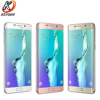 New Samsung GALAXY S6 Edge+ G9280 Mobile Phone 5.7 4GB RAM 32GB ROM Octa Core 2560x1440p 3000mAh 16.0MP Dual SIM CellPhone