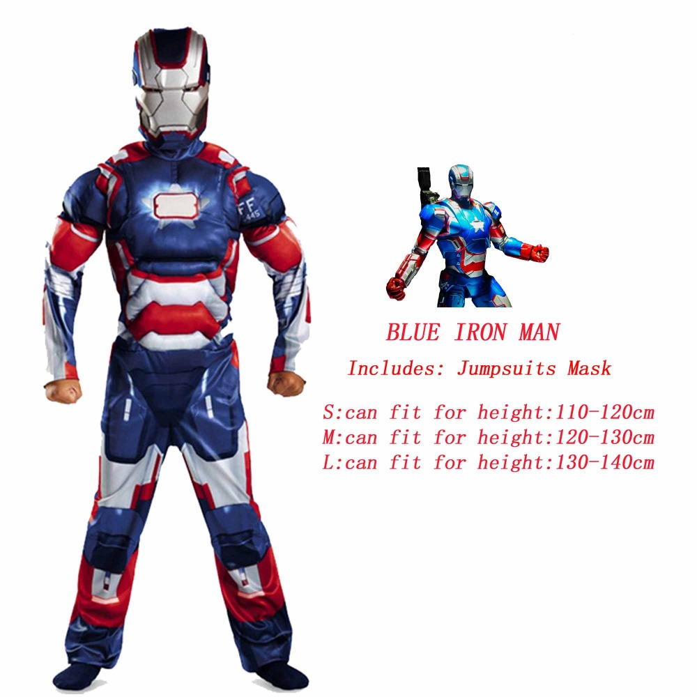 Image 2 - Spider Superman Iron Man Cosplay Costume for Boys Carnival Halloween Costume for Kids Star Wars Deadpool Thor Ant man PantherMovie & TV costumes   -