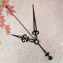 50 قطعة ساعة معدنية سوداء الأيدي لمدة ساعة يمكنك تصميم واجهتها بنفسك آلية عدة لتقوم بها بنفسك ساعة الحائط الكوارتز الخاص بك