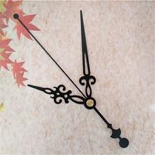 50PCS Metall Schwarz Uhr Hände für DIY Uhr Mechanismus Kit DIY Ihre Wand Quarzuhr