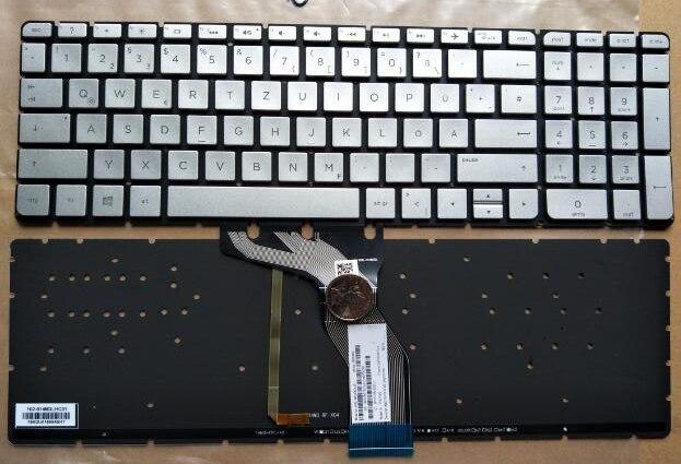 New keyboard for HP ENVY 15-ae020tX ae021tx ae018tx ae019tx ae122tx GR/German layout laptop keyboard for hp for envy 15 ae054na 15 ae058na 15 ae060nz 15 ae061nz 15 ae065na france fr 812692 051