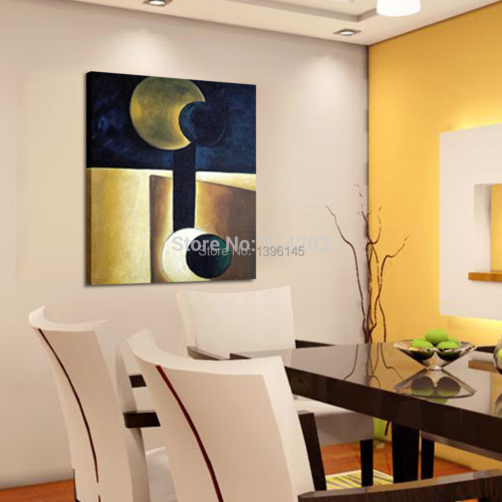 Post Modern Abstract Wall Art Handmade Canvas Oil Painting