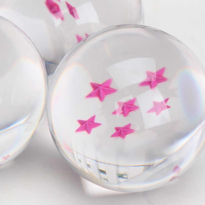 7 centímetros anime brinquedos figura 7 Estrelas Bolas De Cristal de Dragon ball Z Goku Figuras de Ação Brinquedos DBZ Dragonball Shenron Presentes