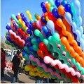 10 unids/lote venta caliente Multicolor Giro piral Embroma la Fiesta de Cumpleaños de Látex Globos de Boda Decoración de Juguete de REGALO de Navidad